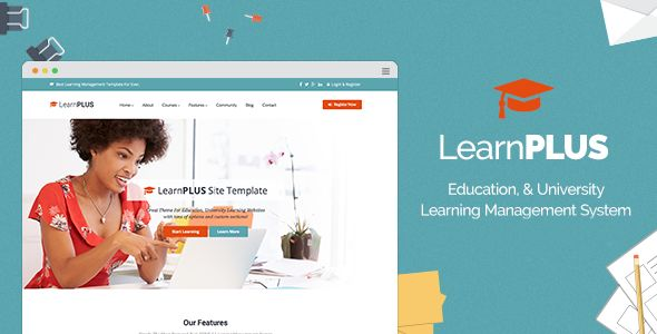 LearnPLUS by Themealien is a educational WordPress theme which features Retina display support, support for RTL languages, Mega Menu, fully responsive layouts, search engine optimization, Google Fonts support, Revolution Slider, WooCommerce integration, Bootstrap framework utilization and a grid layout.