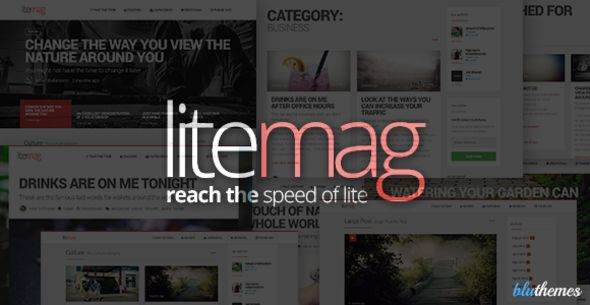 LiteMag by Bluthemes_ is a news magazine WordPress theme which features fully responsive layouts, search engine optimization, clean design, Bootstrap framework utilization, magazine style layouts, is great for your personal site, blogging related layouts and optimizations and minimal design.