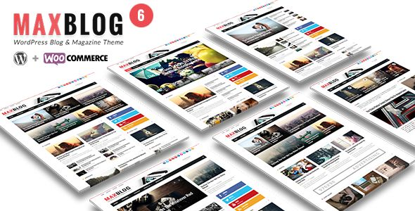 MaxBlog by Theme-Ruby is a news magazine WordPress theme which features Retina display support, support for RTL languages, Mega Menu, fully responsive layouts, search engine optimization, Google Fonts support, WooCommerce integration, clean design, support for photo galleries, magazine style layouts, flat design aesthetics and minimal design.