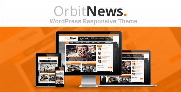 Orbit News by NextWPthemes is a news magazine WordPress theme which features Retina display support, support for RTL languages, fully responsive layouts, Google Fonts support, WooCommerce integration, magazine style layouts and masonry post layouts.