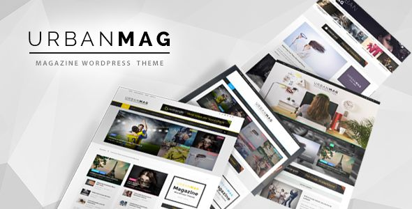 Urban Mag by GoodLayers is a news magazine WordPress theme which features Retina display support, parallax elements, Mega Menu, fully responsive layouts, search engine optimization, Google Fonts support, Revolution Slider, WooCommerce integration, magazine style layouts, is great for your personal site and minimal design.