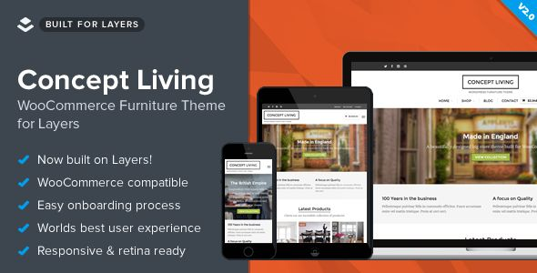 Concept Living by Obox (WordPress theme)