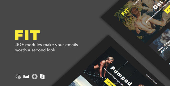 FIT by BrandonHyman (HTML Email Template)