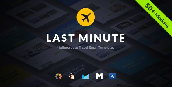 Last Minute Multi-Purpose Hotel by Seeemon (HTML Email Template)