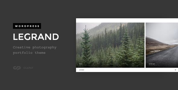 Legrand by ClaPat (WordPress theme)