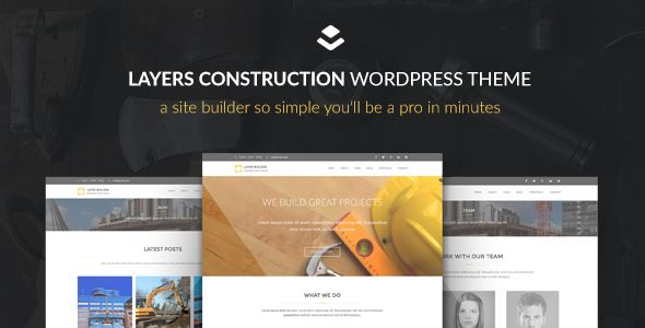 Max Construction by Curtisaallen (WordPress theme)