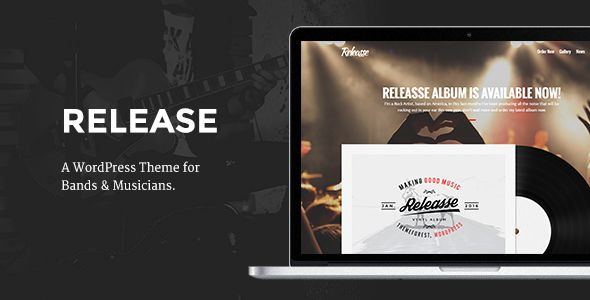 Release by Soluthemes (WordPress theme)
