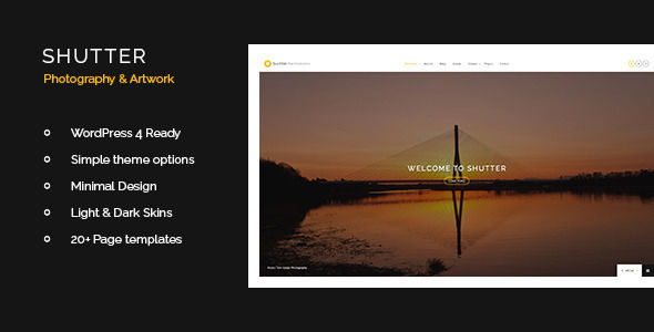 Shutter by StonedThemes (WordPress theme)