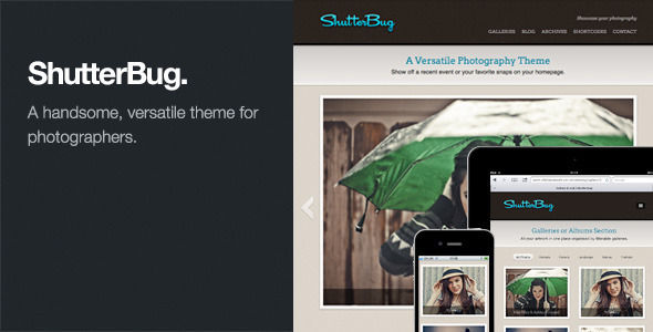 ShutterBug by Themezilla (WordPress theme)