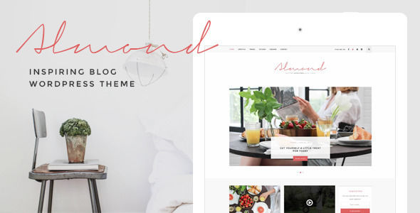 Almond by ZookaStudio video blog WordPress theme