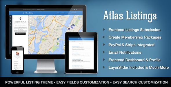 Atlas Directory by ThemesDepot (WordPress theme)