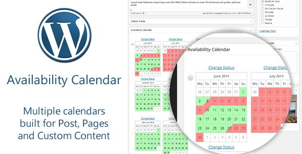 Availability Calendar And Pricing Table Plugin by Spanglishwebs (pricing table plugin)