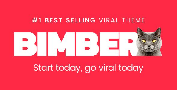 Bimber by Bringthepixel (viral WordPress theme)
