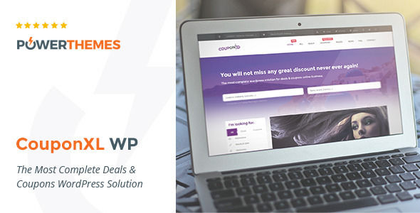 CouponXL by Pebas (WordPress theme)