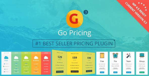 Go Pricing by Granth (pricing table plugin)