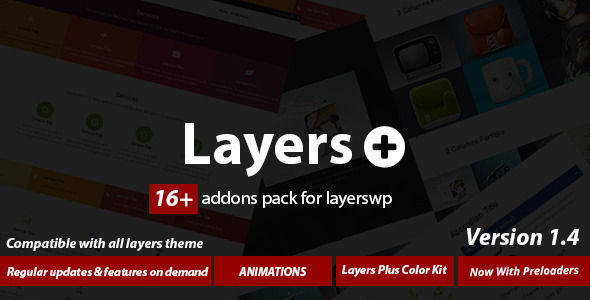 Layers Plus Addons Bundle For Layerswp by Maajee (pricing table plugin)