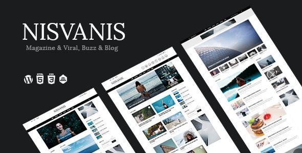 NISVANIS by Themewaves (viral WordPress theme)