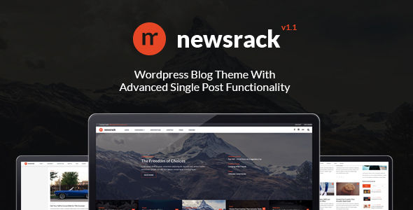 Newsrack by ShindiriStudio (viral WordPress theme)