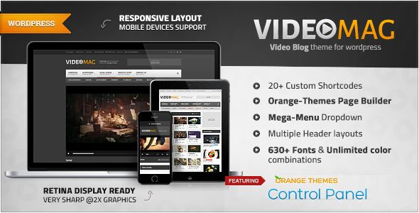 VideoMag by Orange-themes (viral WordPress theme)