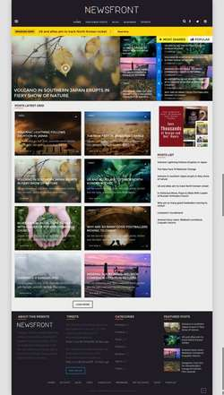 NewsFront - Blog - News - Editorial eCommerce WordPress Theme