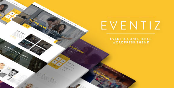 Eventiz by Opal_WP (event & conference WordPress theme)