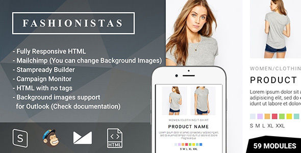 Fashion by Psd2newsletters (email templates for use with Mailchimp)