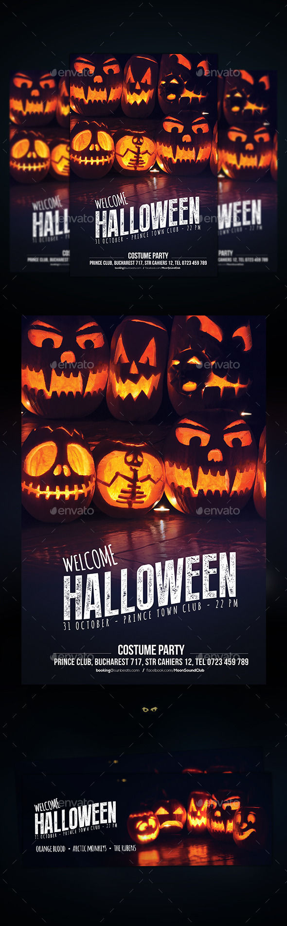 Halloween Flyer by DusskDesign (Halloween party flyer)