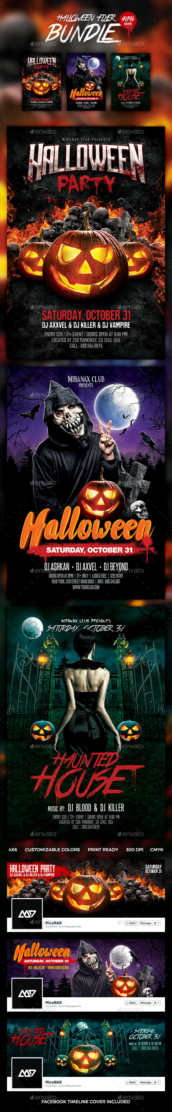 Halloween by HyperPix (Halloween party flyer)