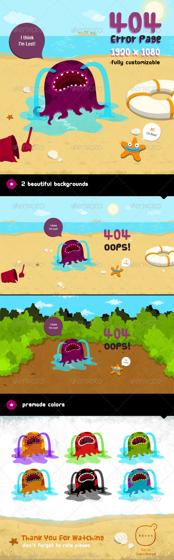 Lost by AddtoFavorites (layered 404 page template)