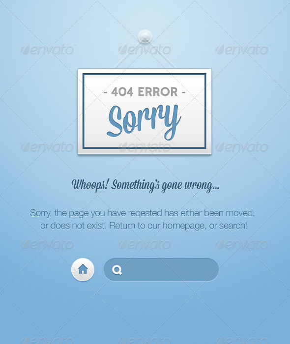 Nice by AddtoFavorites (layered 404 page template)