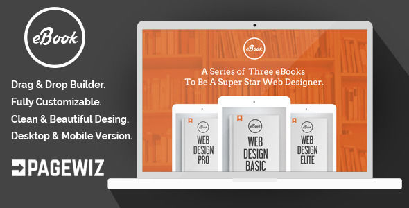 EBook by Demustang (landing page template for PageWiz)