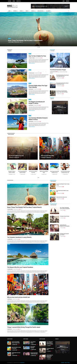 MagZilla - For Newspapers - Magazines and Blogs