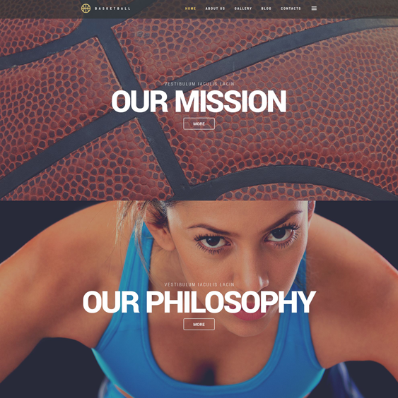 basketball sports wordpress themes