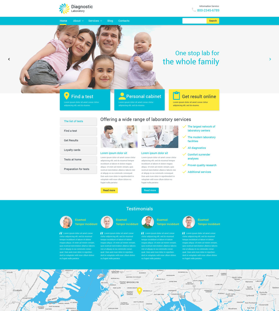 diagnostic medical wordpress themes