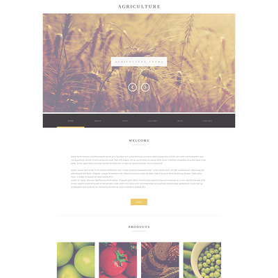 Agriculture Business WordPress Theme (farming and agricultural WordPress theme) Item Picture