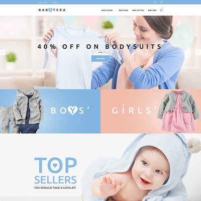 Babytera (Magento theme for kids, babies, and children) Item Picture