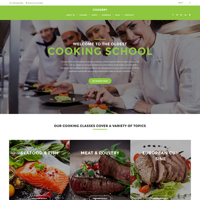 Cooking (education WordPress theme) Item Picture