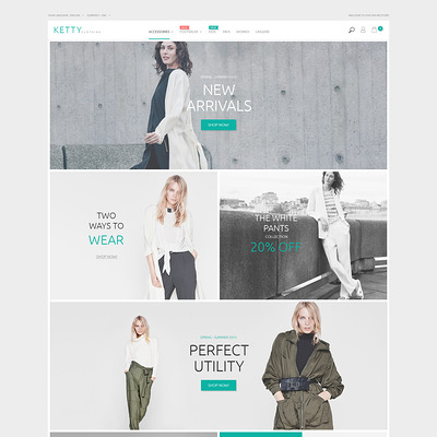Ketty (Magento theme for mens and womens clothing) Item Picture