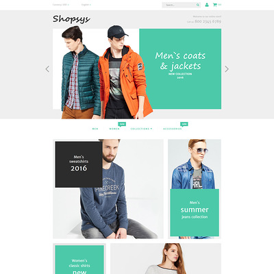 Shopsys (Magento theme for mens and womens clothing) Item Picture