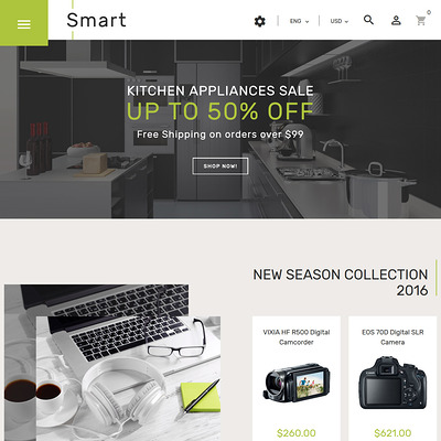 Smart (PrestaShop theme for electronics stores) Item Picture