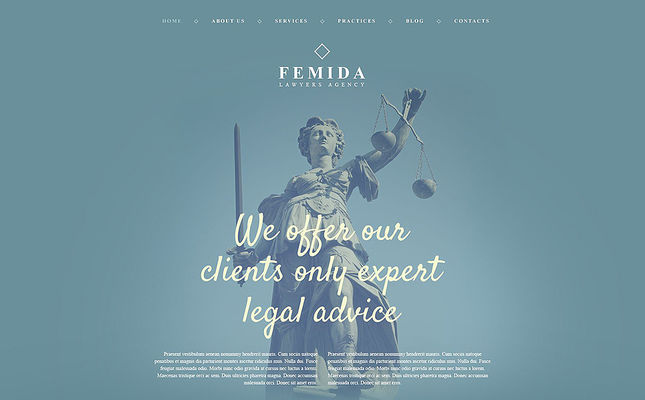 best wordpress themes lawyers law firms feature