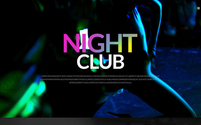 best wordpress themes night clubs feature