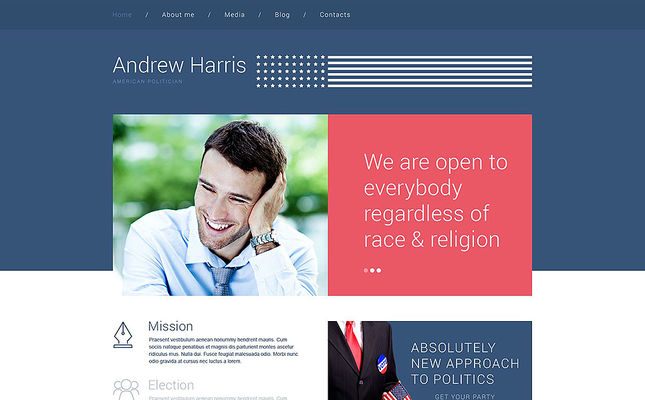 best wordpress themes politics feature