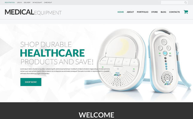 best medical health woocommerce themes stores feature
