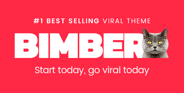 Bimber (viral WordPress theme with frontend submission) Item Picture