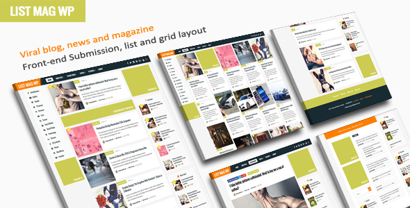 List Mag WP (viral WordPress theme with frontend submission) Item Picture