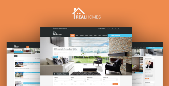 Real Homes (real-estate WordPress theme) Item Picture