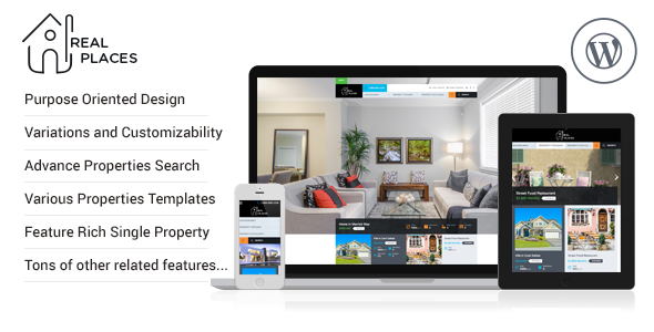 Real Places (real-estate WordPress theme) Item Picture