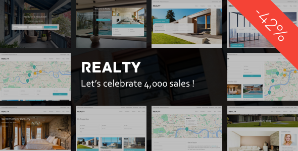 Realty (real-estate WordPress theme) Item Picture
