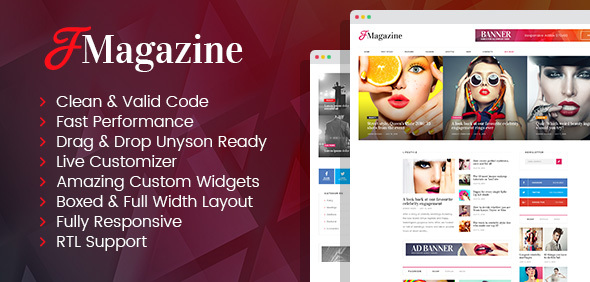 TrueMag (viral WordPress theme with frontend submission) Item Picture